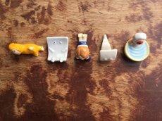 画像2: 陶器箸置きシリーズ『一反もめん』 (2)
