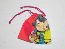 画像4: ゲゲゲの鬼太郎『巾着袋』(赤) (4)
