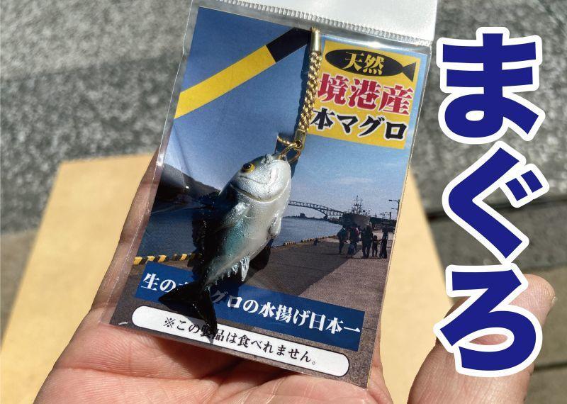 画像1: 【食べられませんw】リアルなマグロのストラップ (1)